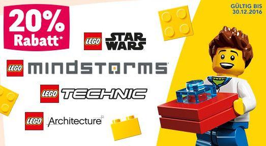 ToysRUs Aktionen   z.B. 20% Rabatt auf Lego oder Ravensburger Artikel