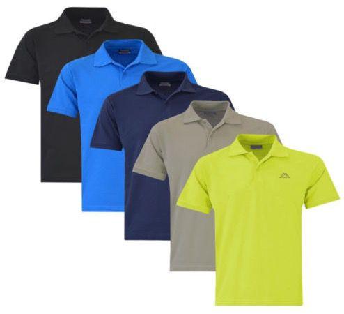 Kappa Scotty   Herren kurzarm Poloshirts bis 4XL für je 9,99€