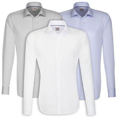 Seidensticker Herren Hemd Langarm Slim Fit für 24,95€ (statt 30€)