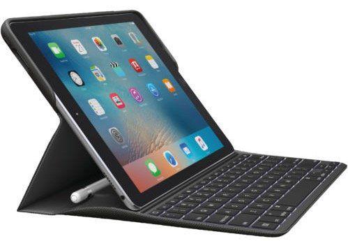 Beendet! Logitech Create iPad Pro (9,7) Tastatur Case mit Beleuchtung ab 56,10€ (statt 102€)