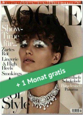 3 Monate Vogue für 21€ + 20€ Gutschein