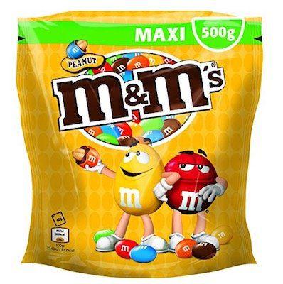 2kg (4 x 500g) M&Ms Peanuts ab nur 12,49€ [Prime]