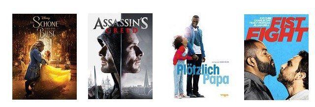 Ausgewählte Filme in HD für 0,99€ bei Amazon ausleihen   z.B. Die Schöne und das Biest