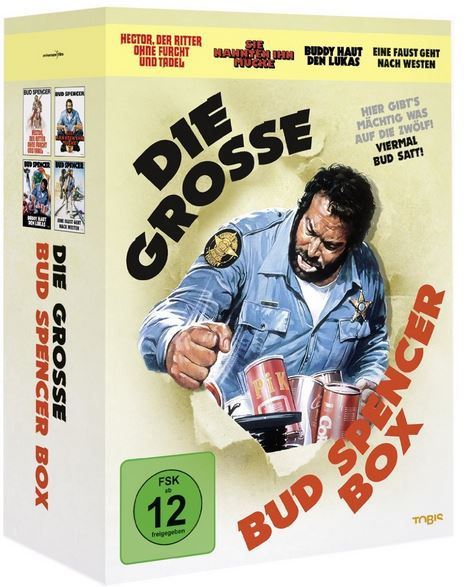 Bud Spencer Die große Bud Spencer Box ab 13,97€   good bye Bud R.I.P.