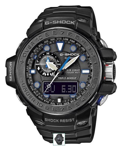 CASIO G Shock GWN 1000C 1AER Herren Funk Solar Chronograph statt 435€ für 314,99€