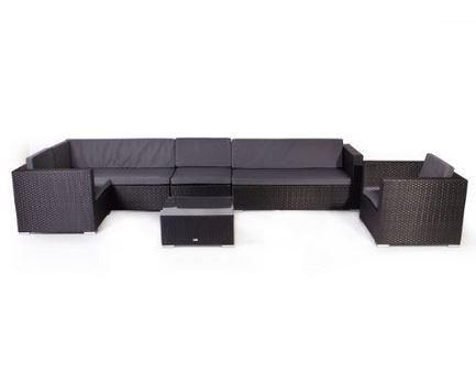 Vanage London XXXL Gartengarnitur   Chill und Lounge Set für 799,99€