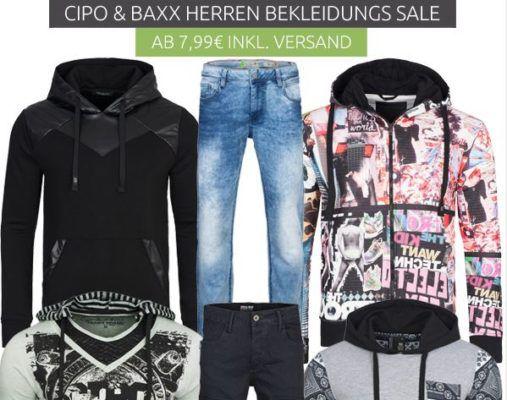 Cipo & Baxx Ausverkauf + VSK frei   z.B. Polo Shirts für 7,99€ (statt 20€)