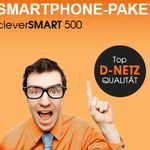 Callmobile Clever Smart 500 (100 Min, 100 SMS + 500MB) für 4,95€ mtl. (ohne Laufzeit) – TOP!