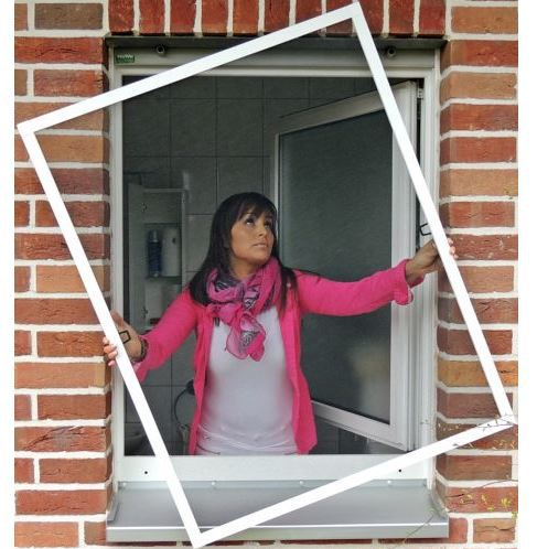 Consepto   Fenster Insektenschutz div. Größen für je 13,45€