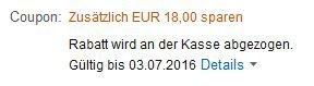 Bosch Akku Geräte bei Amazon mit 18€ sofort Rabatt
