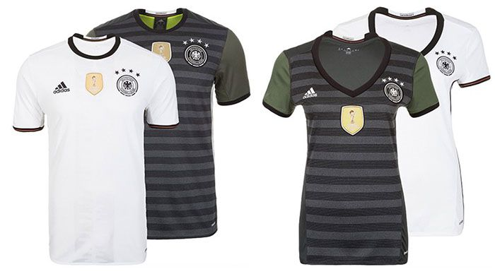 adidas DFB Trikot Home/Away EM 2016 ab 33,96€