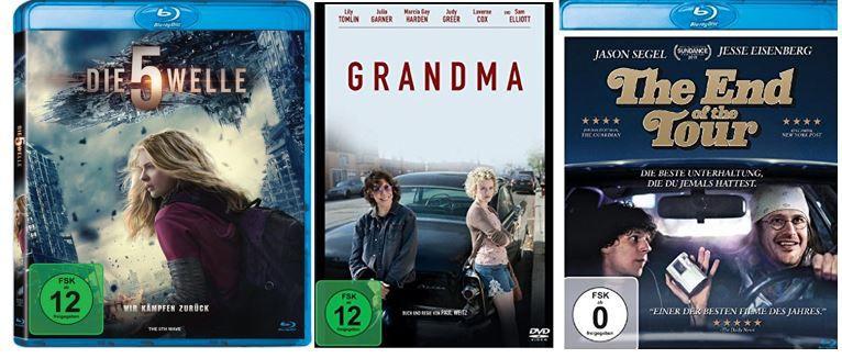 Amazon Filmangebote heute   z.B. Die 5. Welle ab 9,97€