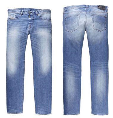 Diesel Buster 839C Diesel Buster 839C Regular Straight Fit Herren Jeans für 79,90€ (statt 110€)