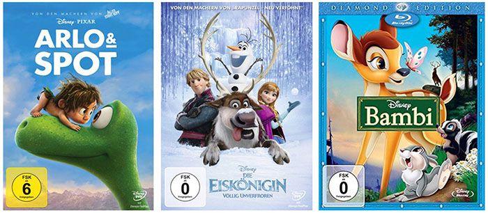 Disney: 7 Tage Preishits mit Klassikern, Blockbuster uvm. bei Amazon