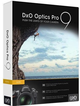 DxO Optics Pro 9 Elite DxO Optics Pro 9 Elite (Vollversion) gratis