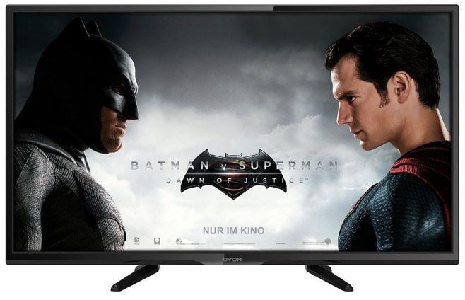 Dyon Enter 32 Pro Dyon Enter 32 Pro D800076  32 Zoll HD ready TV mit triple Tuner (DVB T2) für 144,99€
