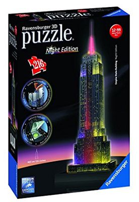 Ravensburger Empire State Building bei Nacht Night Edition 3D ab 14,98€ (statt 21€)