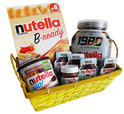 Ferrero Nutella Ferrero Nutella Spezialitäten Geschenk Set 8 teilig ab 19,99€ (statt 38€?)