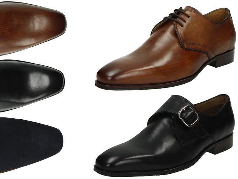 Fitters Herren Business Leder Schuhe für 44,95€