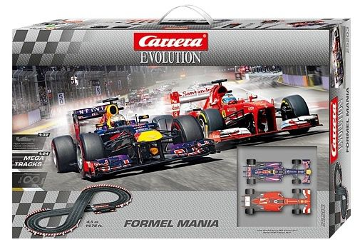 Formel Mania Carrera Evolution Formel Mania Rennbahn für 52,92€ (statt 70€)