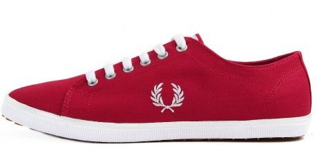 Fred Perry Kingston Twill Blood Sneaker für 49€ (statt 71€)