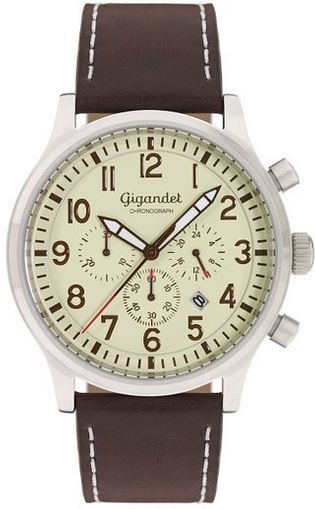 Gigandet Destination G15 003   Herrren Chronometer mit Miyota Kaliber für 70,88€