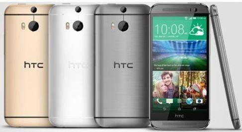 HTC One (M9)   Android Smartphone mit 32GB, div. Farben für je 359€