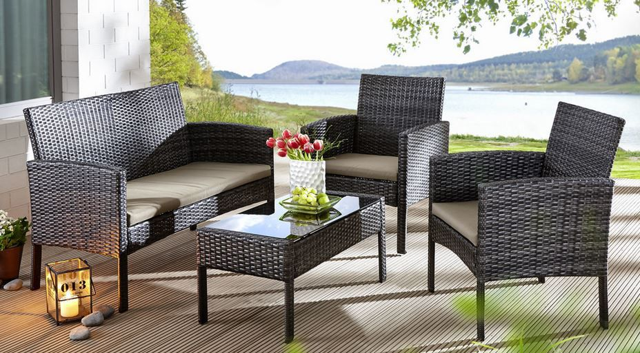 Hartman Newport   Garten Lounge Sitzgruppe für nur 132,15€