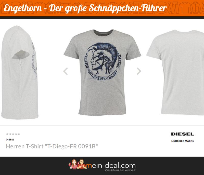 Herren T Shirt Der große engelhorn Schnäppchenführer