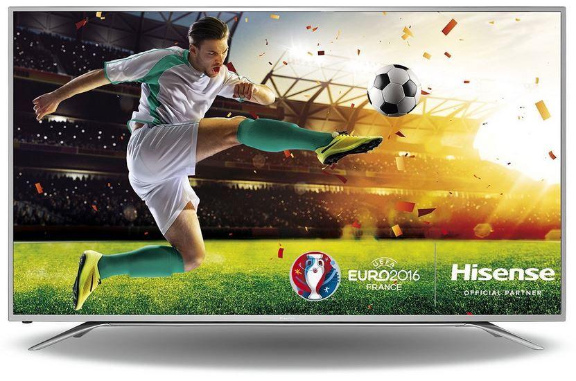 Hisense H65MEC5550 Hisense HE65KEC730   65 Zoll  UltraHD Smart TV mit Triple Tuner (DVB T2) für 999,99€