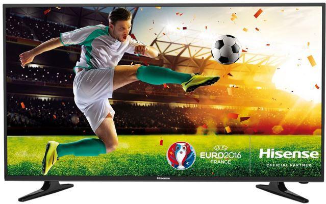 Hisense LHD32D50   32 Zoll HDready TV mit triple Tuner (DVB T2) für 139,99€
