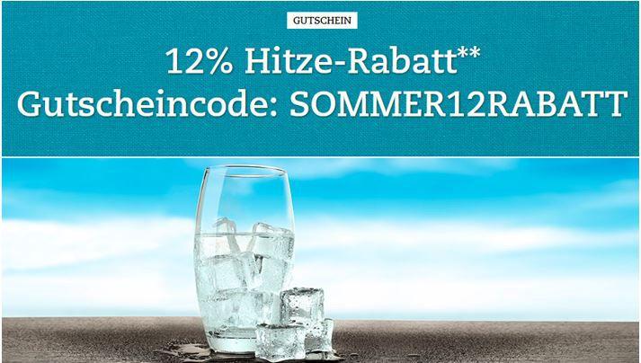 Hitze Rabatt 12% Rabatt auf Filme, Musik und mehr bei Buch.de