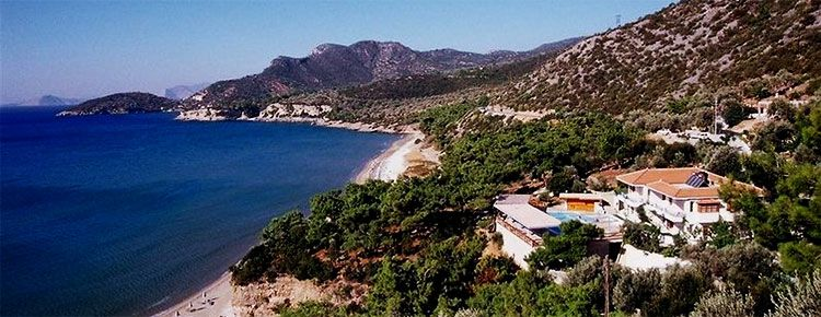 Hotel Golden Sand Marathokampos tease 1 Woche Samos im 3* Hotel inkl. Frühstück, Flug & Transfer ab 298€ p.P.