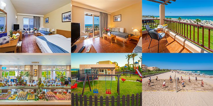 7 Tage auf der Insel Kos im 4* Hotel direkt am Strand + Flug, Transfer & Halbpension ab 609€