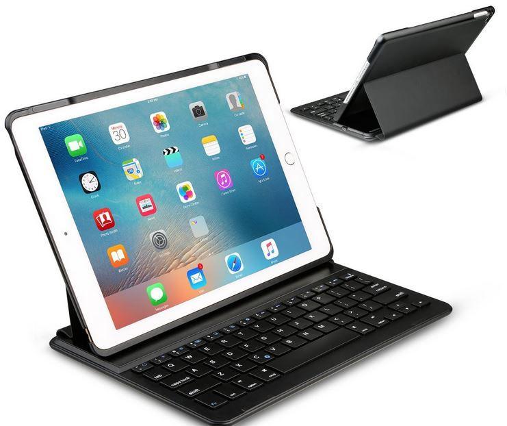 Inateck Ultra thin iPad Air 2 deutsche Bluetooth Tastatur mit Cover für 27,99€