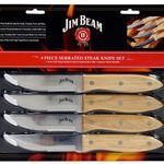 Jim Beam Grillbesteck Steakmesserset 4-teilig für 12,99€ (statt 17€)