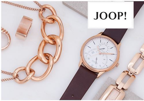 Joop Sale Joop Schmuck und Uhren günstig   dank bis zu 73% Rabatt
