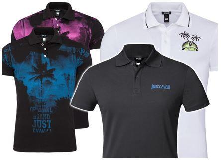 Just Cavelli Herren polo Shirts Just Cavalli Poloshirts in verschiedenen Farben für je 16,99€ (statt 26€)