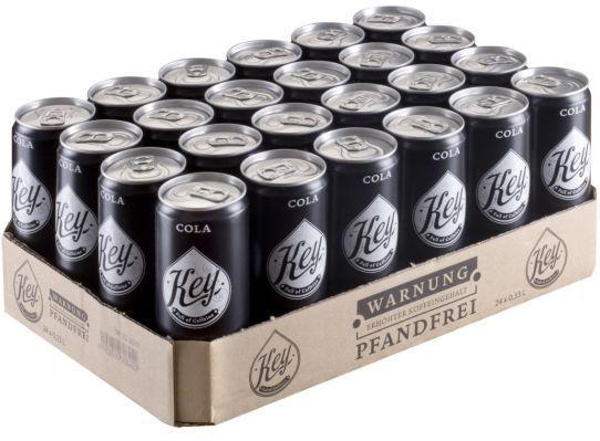 KEy COla Key Cola   Full of Caffeine Dose (24 x 330ml) für nur 11,99€