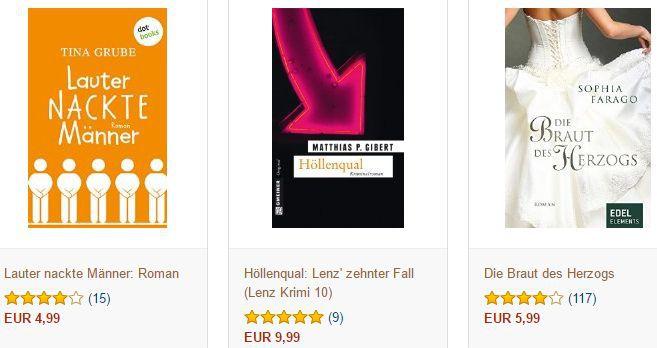 1 von 3 Kindle Ebooks gratis für Amazon Newsletteranmeldung
