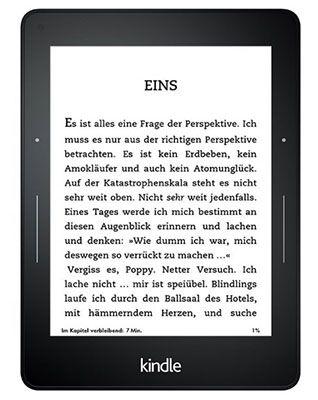 Kindle Voyage   6 Zoll eReader mit WLAN & 300 ppi Display für 149,99€ (statt 180€)