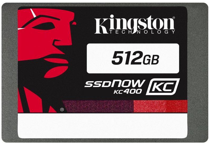 Kingston SKC400 512GB SSD Kingston SSDNow KC400   512GB int. SSD für 114,90€