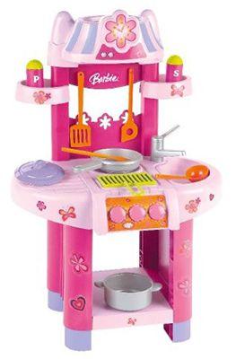 Klein 9588 Barbie Kueche Klein 9588 Barbie Küche mit Zubehör für 12,99€ (statt 19€)