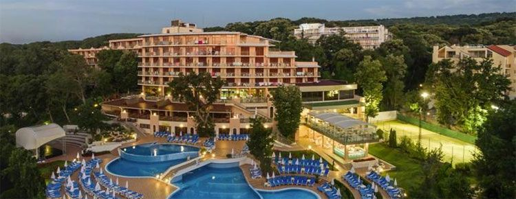 Kristal Hotel golstrand teaser 7 Tage im 4* Hotel an Bulgariens Goldstrand mit Flug & All Inclusive ab 379€ p.P.