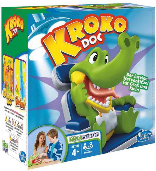 Hasbro Kroko Doc   Spiel für Erwachsene und Kinder für 14,94€