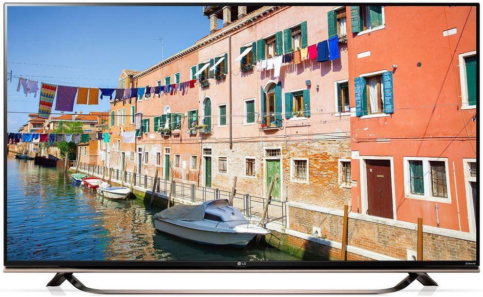 Fehler? LG 55UF8609   55 Zoll UHD 3D Fernseher mit Triple Tuner inkl. DVB T2 für 899€ (statt 1.454€)
