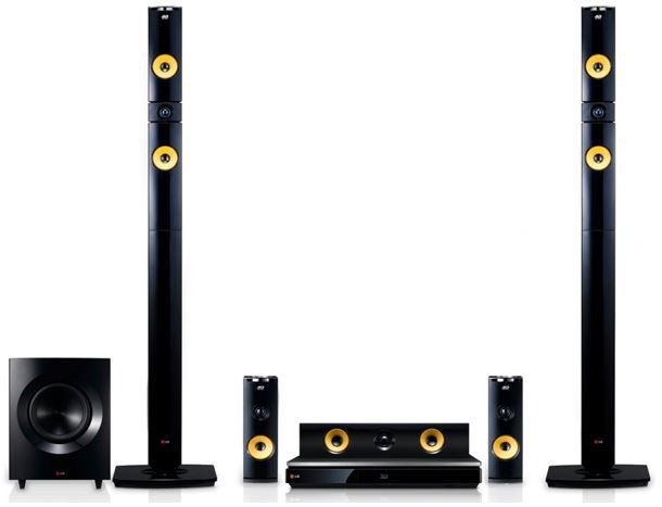 LG BH9430PW   3D Blu ray 9.1 Heimkinosystem mit Wireless Lautsprechern für 419€