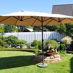 Leco Sonnenschirm 270 x 460cm für 99€ (statt 124€)