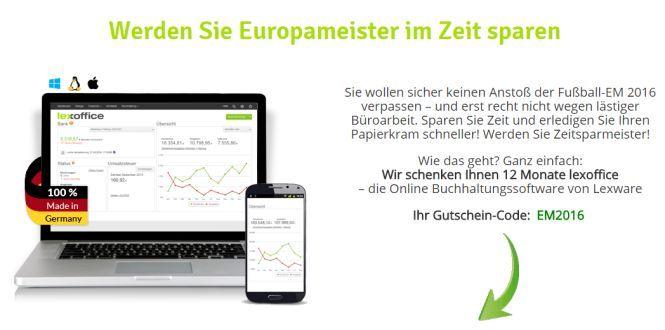 LexOffice Rechnung & Finanzen 1 Jahr kostenlos dank Gutschein