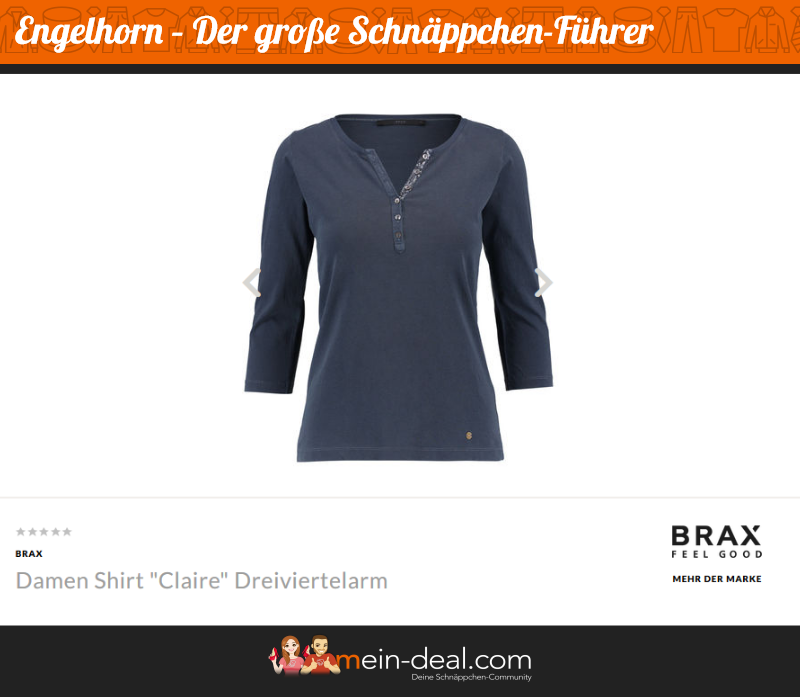 Marke BRAX Der große engelhorn Schnäppchenführer
